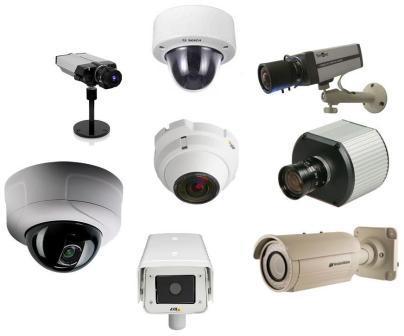 Сравнение разрешения  Аналоговых видеокамер и IP камер