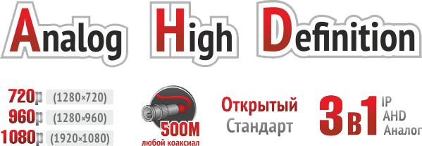 AHD Moldova, Компания PAZA.md в Молдове - AHD технология: качество 720p/1080p по коаксиалу на 500 метров без задержек и потерь.